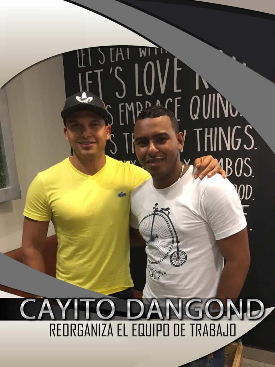 CAYITO DANGOND REORGANIZA EL EQUIPO DE TRABAJO