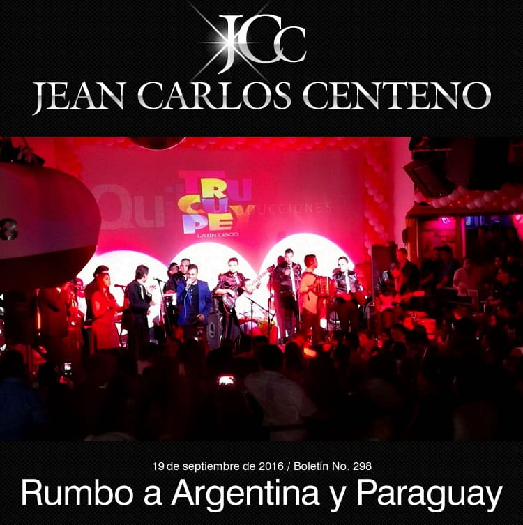 El internacional JEAN CARLOS CENTENO rumbo a Argentina y Paraguay