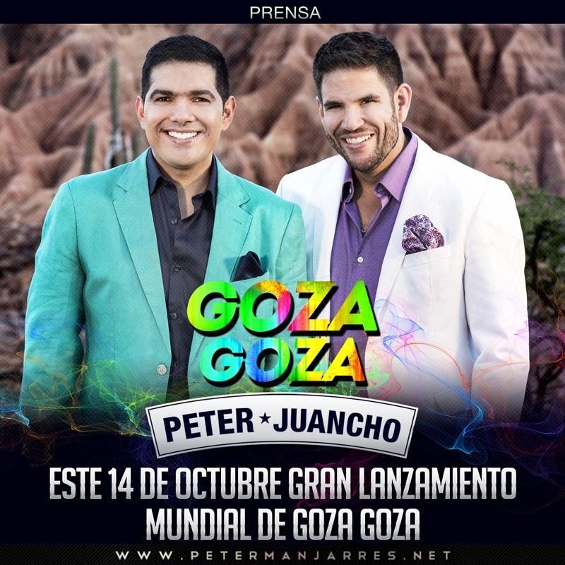 Goza Goza Peter Manjarrés y Juancho