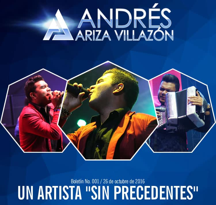 "Andrés Ariza Villazón un artista ""Sin precedentes"""