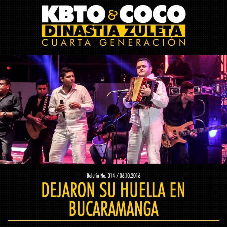 Kbeto Zuleta y Coco Zuleta dejaron su huella en Bucaramanga