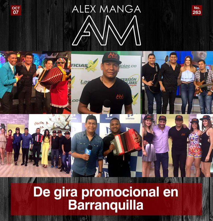 Alex Manga en Barranquilla