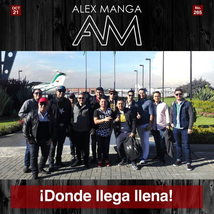 ¡Alex Manga donde llega llena!