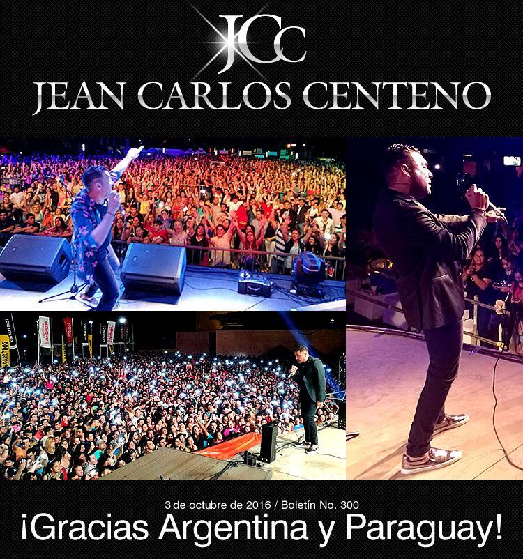 ¡Gracias Argentina y Paraguay!: JEAN CARLOS CENTENO