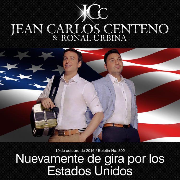 Jean Carlos Centeno nuevamente de gira por los Estados Unidos