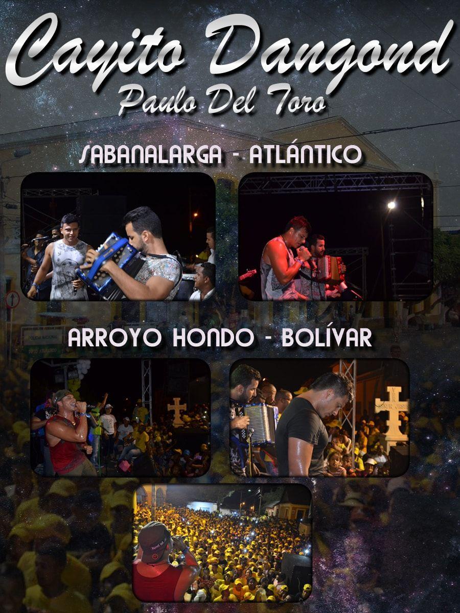 CAYITO DANGOND & PAULO DEL TORO DELEITANDO CON SU SHOW