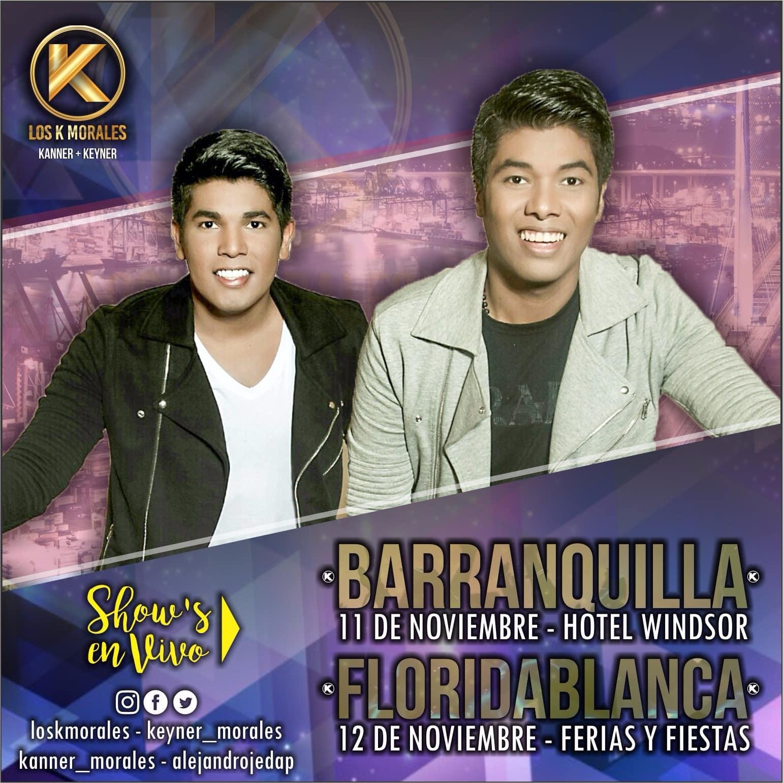 Kanner & Keyner, Los K Morales en Barranquilla y Floridablanca