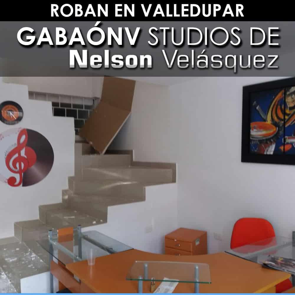 Roban en Valledupar Gabaónv Studios de Nelson Velásquez