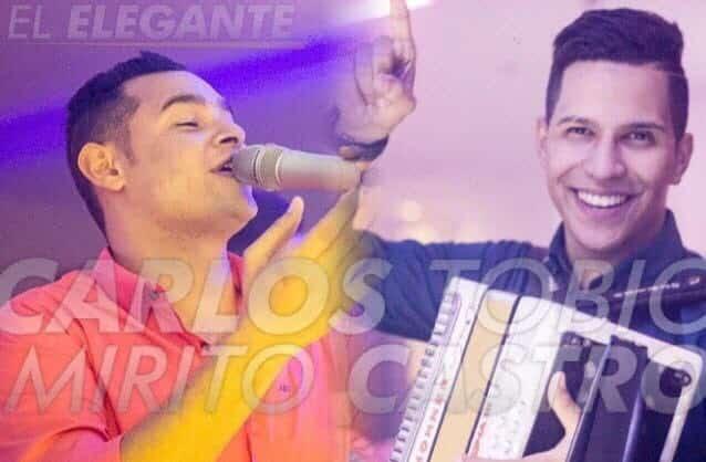 Carlos Tobío y Mirito Castro, impactantes con su Álbum 'El Elegante' en el Cesar, Guajira y Magdalena