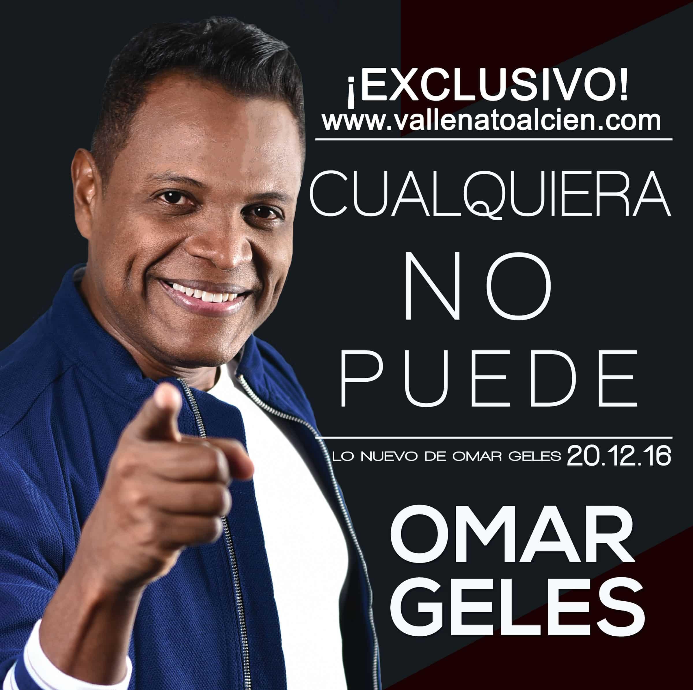 Cualquiera no puede Omar Geles via @Vallenatoalcien