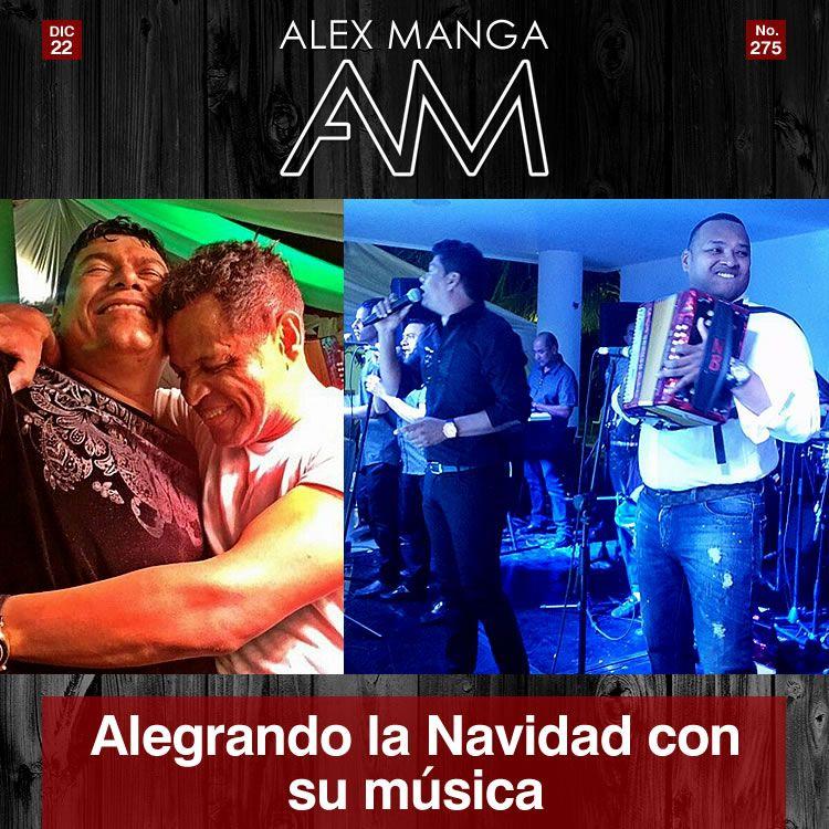 Han sido muchos los eventos en los que ha actuado por estos días el internacional ALEX MANGA, alegrando las fiestas de Navidad con su música