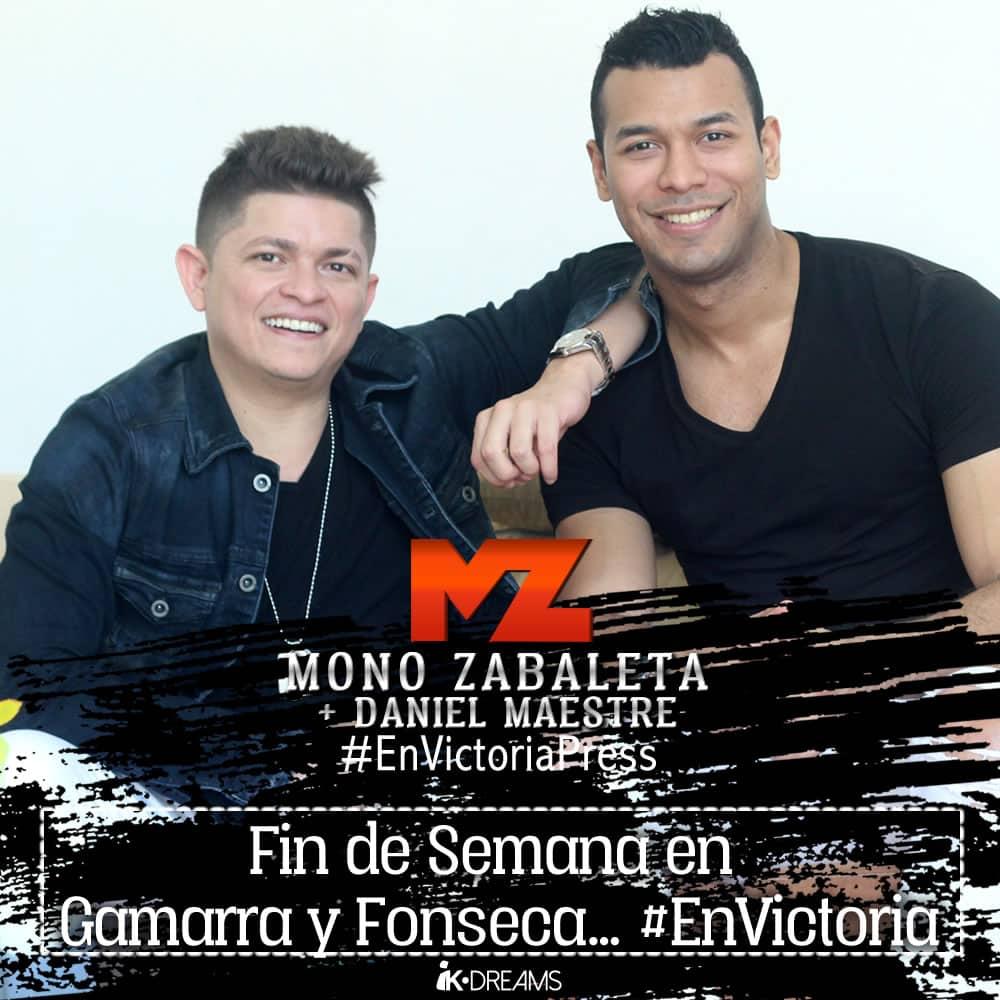Mono Zabaleta Fin de Semana en Gamarra y Fonseca
