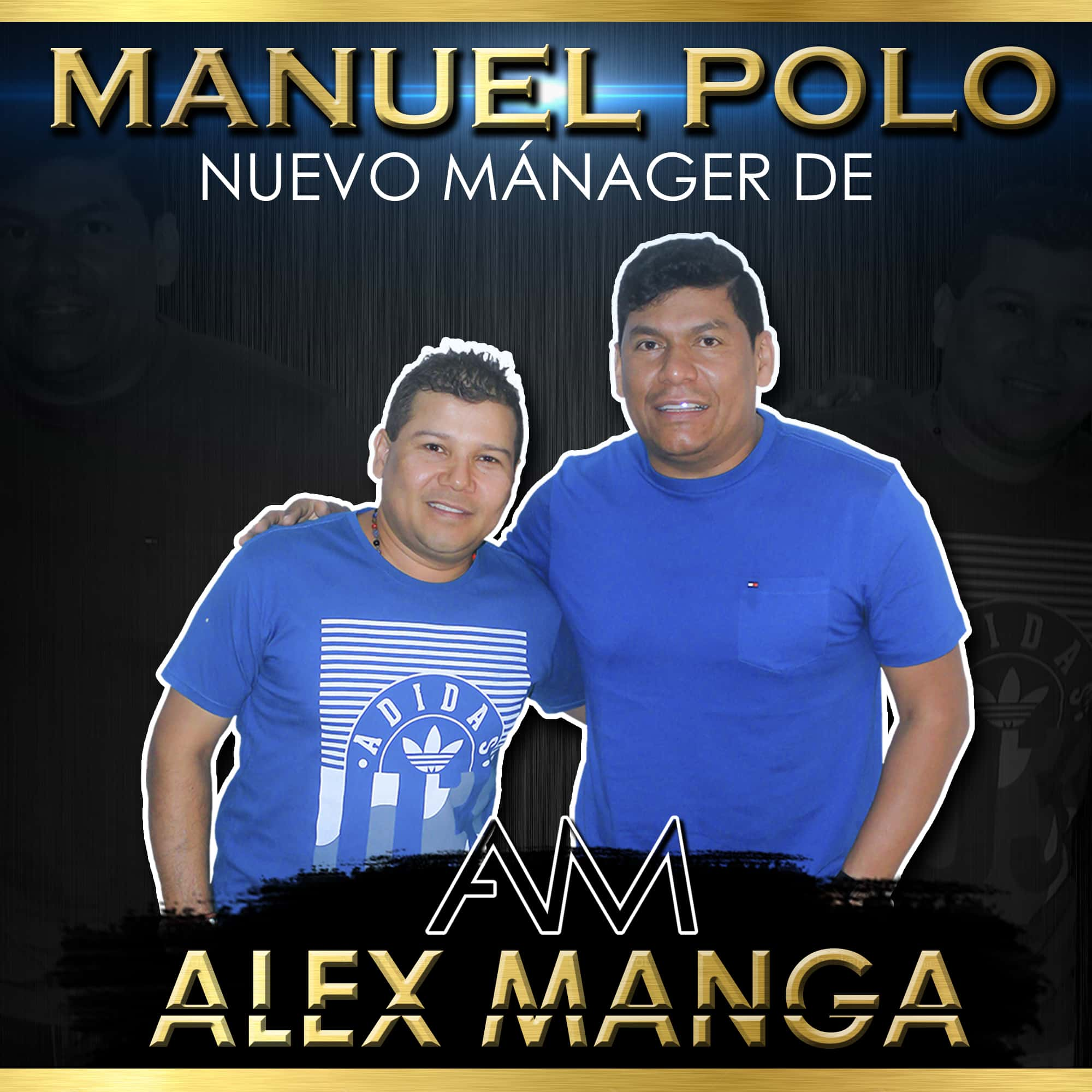 Manuel Polo nuevo mánager de Alex Manga