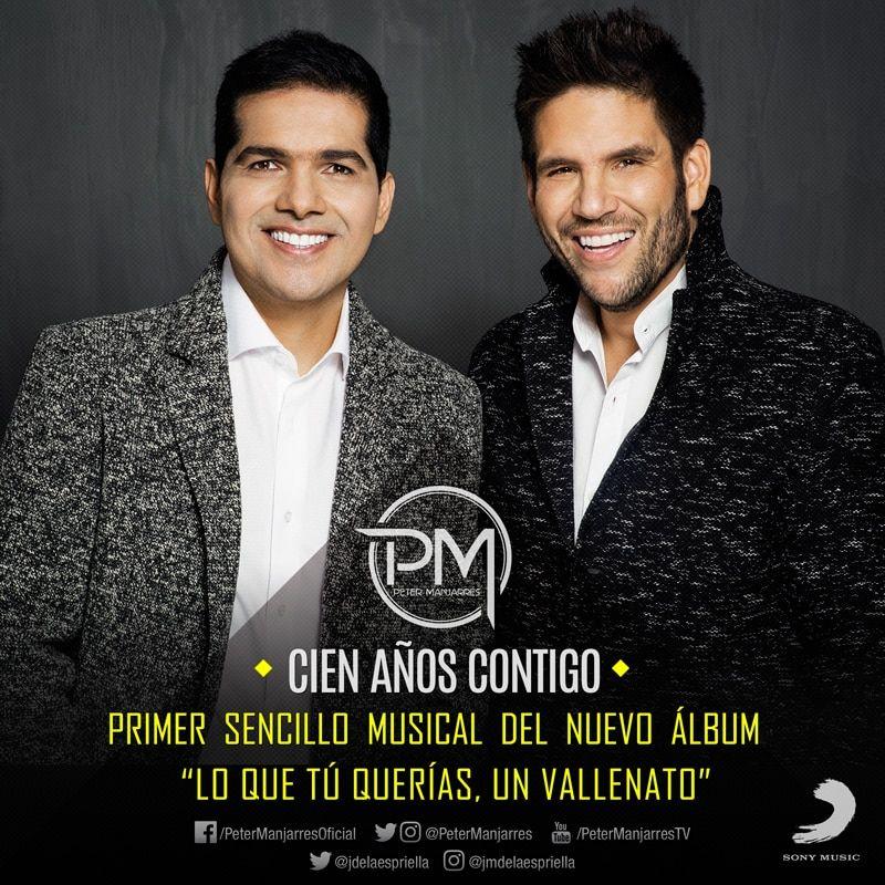 Peter Manjarres y Juancho de la Espriella Cien años contigo
