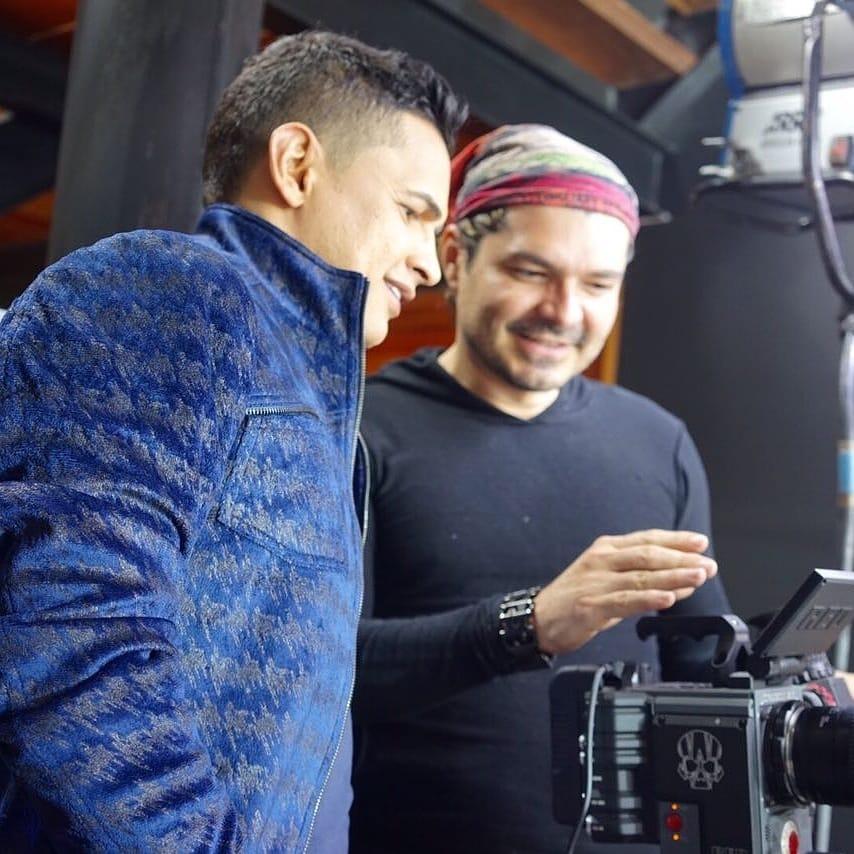Jorge Celedón y Sergio Luis Ni un paso atras video