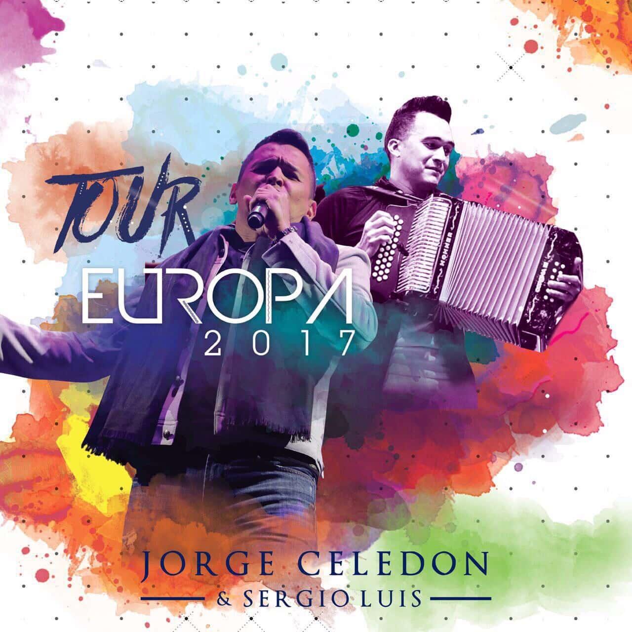 Jorge Celedon y Sergio Luis Rodriguez en Europa