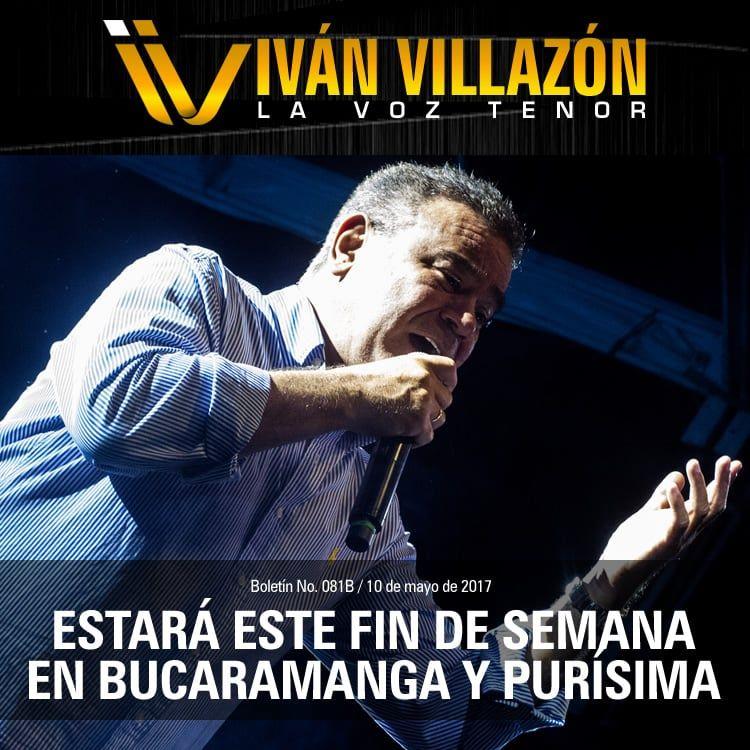 Iv n villaz n estar este fin de semana en bucaramanga y for Eventos en madrid este fin de semana