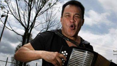 Alfredo Gutierrez en el cuna de acordeones