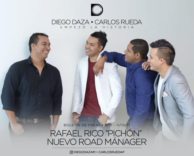 Diego Daza y Carlos Rueda .