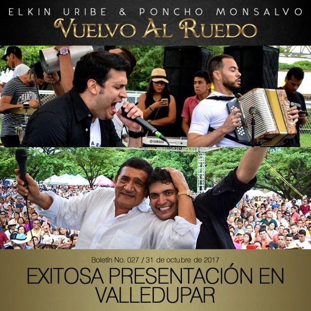 Elkin Uribe y Poncho Monsalvo vuelvo al ruedo