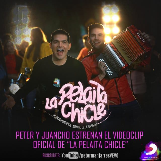 La pelaita chicle Peter y Juancho