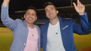 Jorge Celedon y Sergio Luis