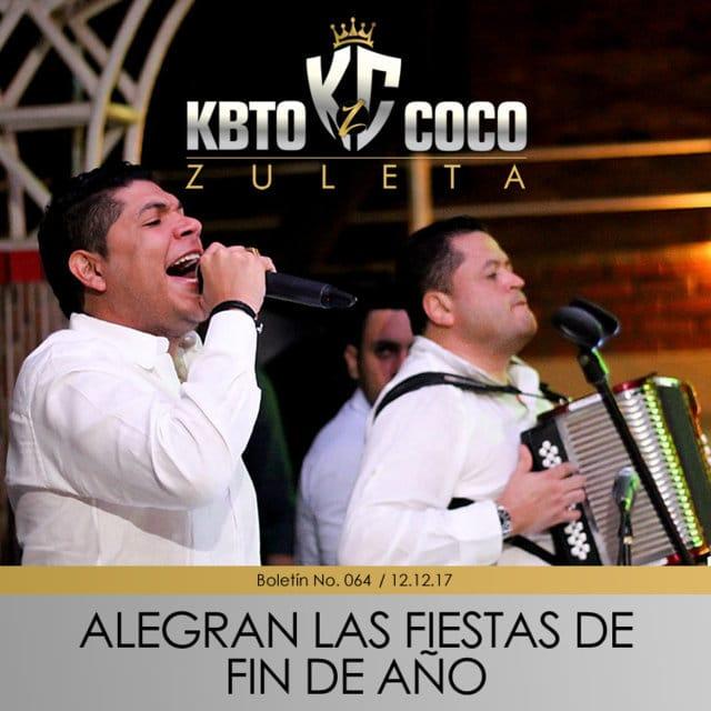 Kbeto Zuleta y Coco Zuleta alegran las fiestas de Diciembre