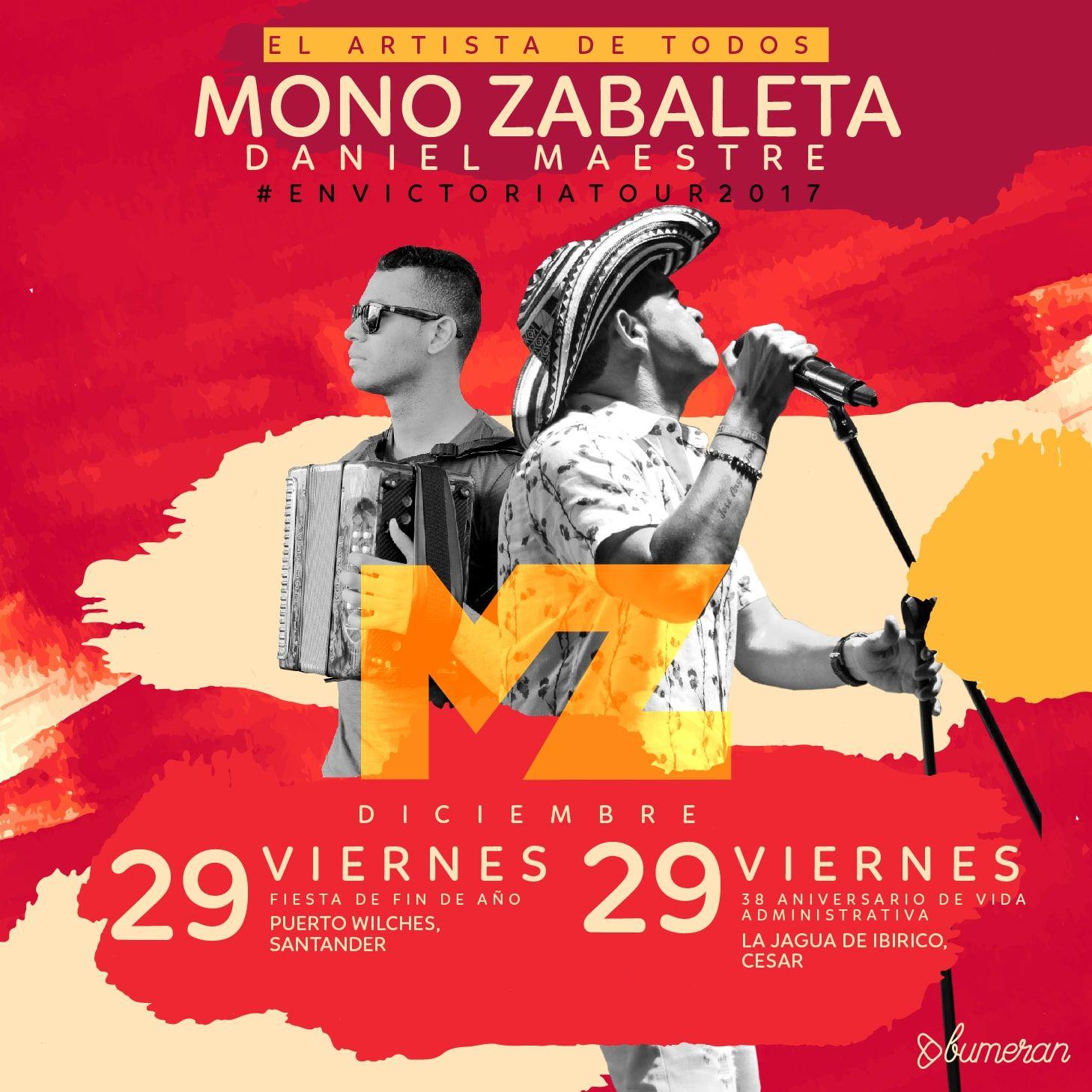 Mono Zabaleta y Daniel Maestre en Fin de año