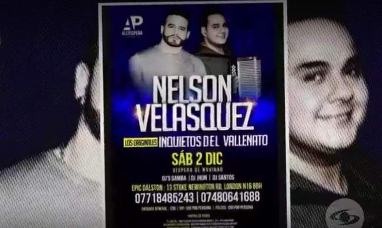 Lio entre Nelson Velasquez y los inquietos del vallenato