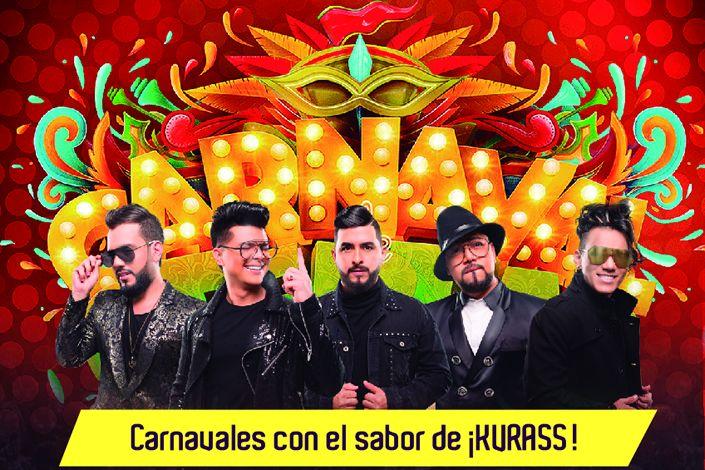 Grupo Kvrass en Carnavales