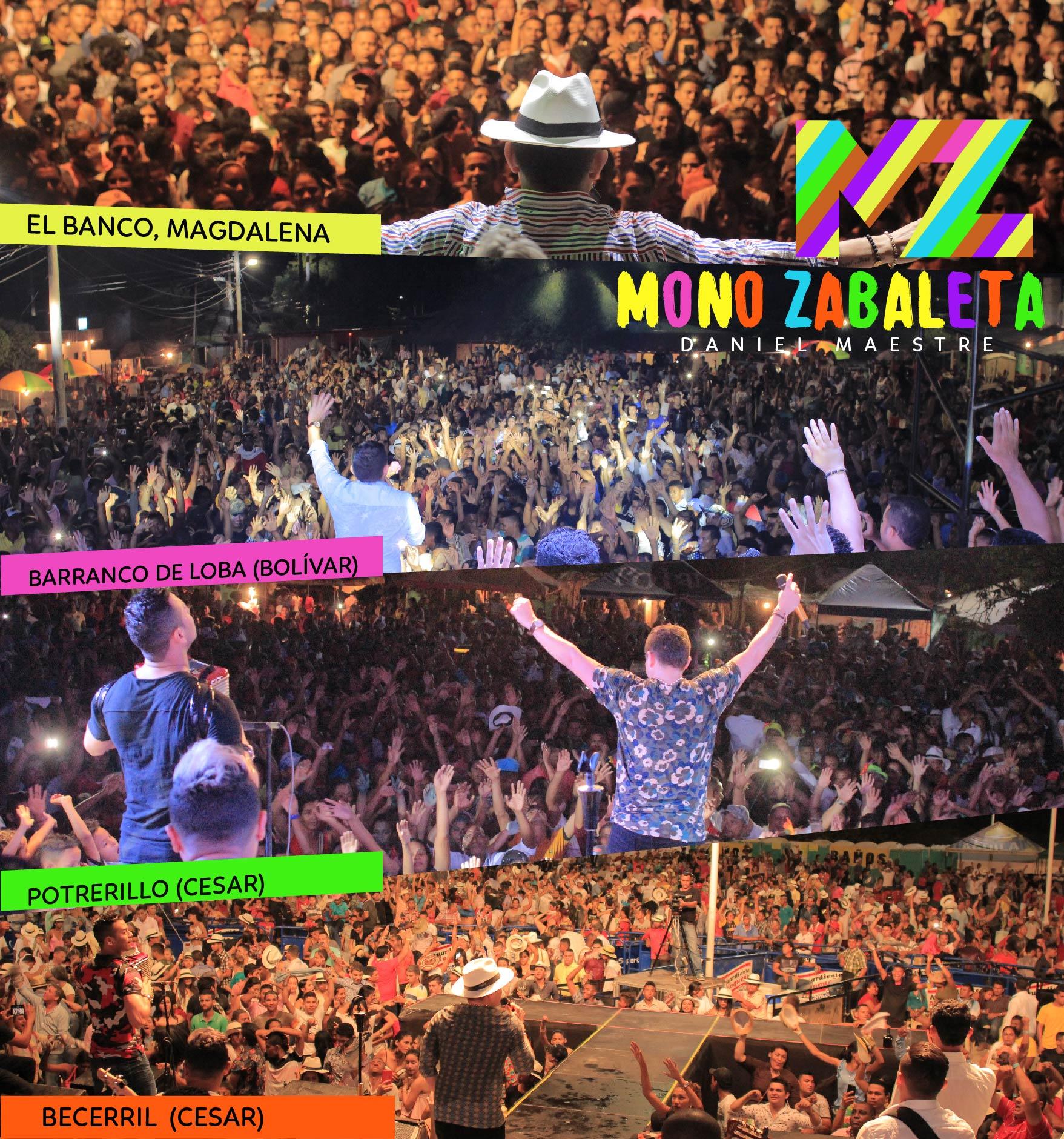 Mono Zabaleta en Carnavales