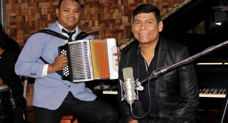 Alex Manga y Neno Beleño estan grabando en Medellin