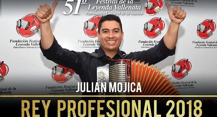 Julián Mojica Rey Vallenato 2018