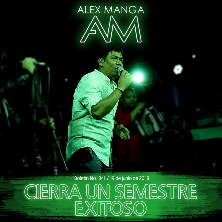 Un semestre exitoso para Alex Manga