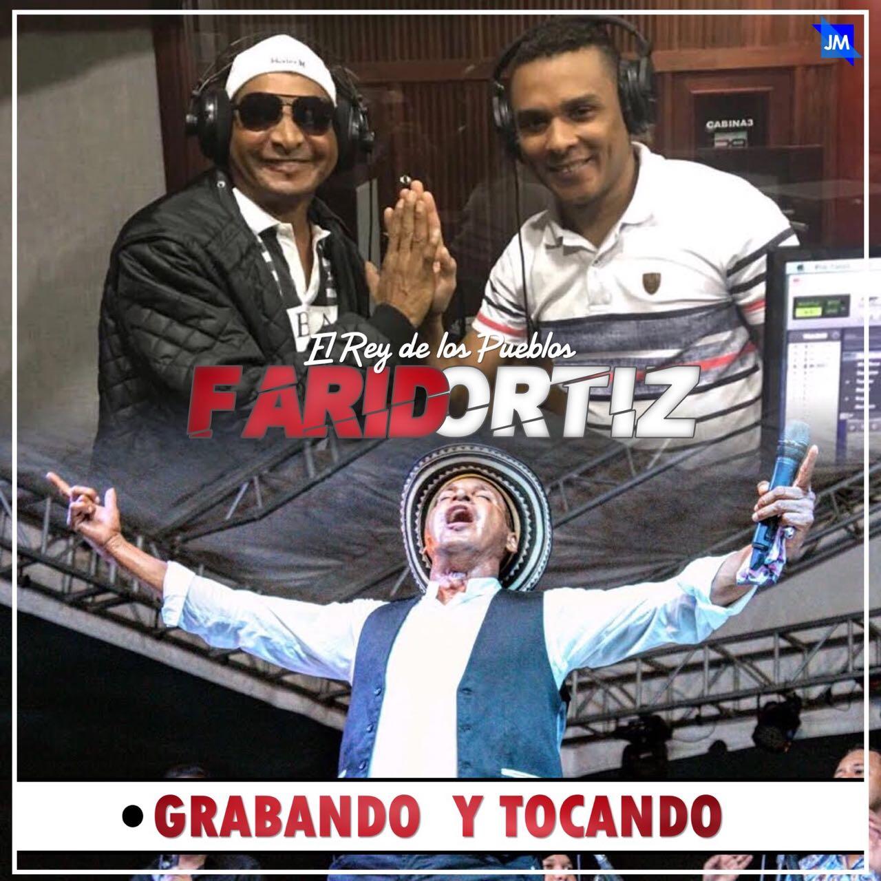 En grabación esta Farid Ortiz
