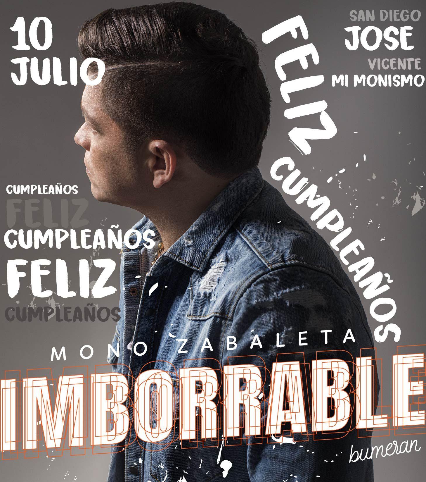 Imborrable Mono Zabaleta