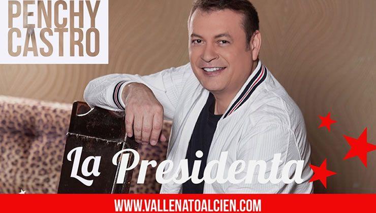 La presidenta Penchy Castro
