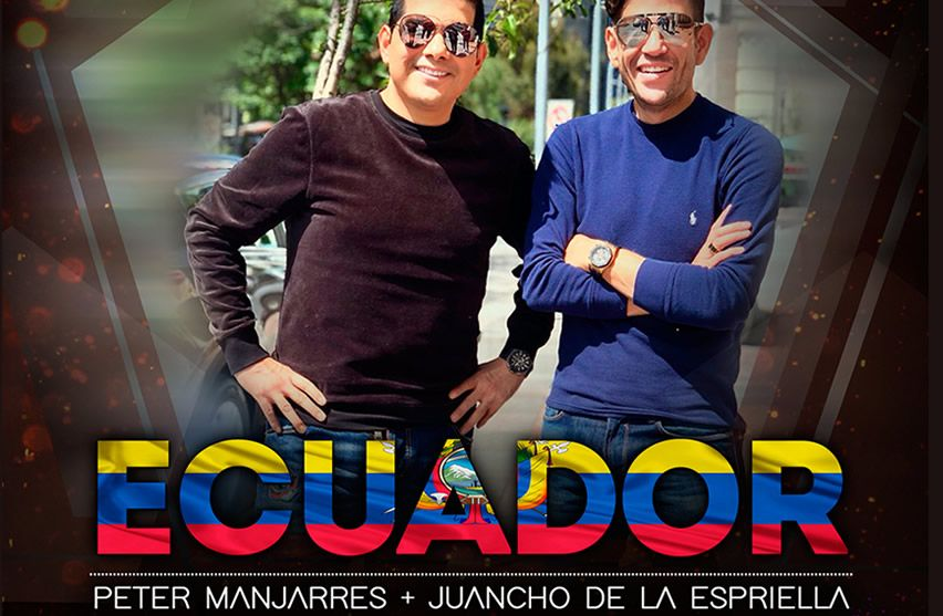 Peter Manjarrés en Ecuador