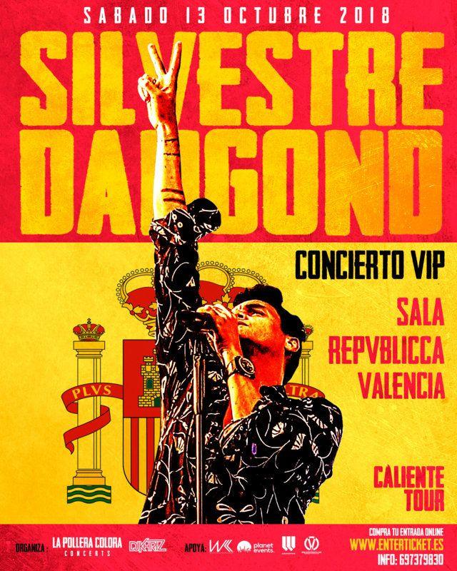Concierto de Silvestre Dangond en Valencia