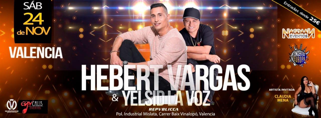Concieerto de Hebert Vargas en Valencia