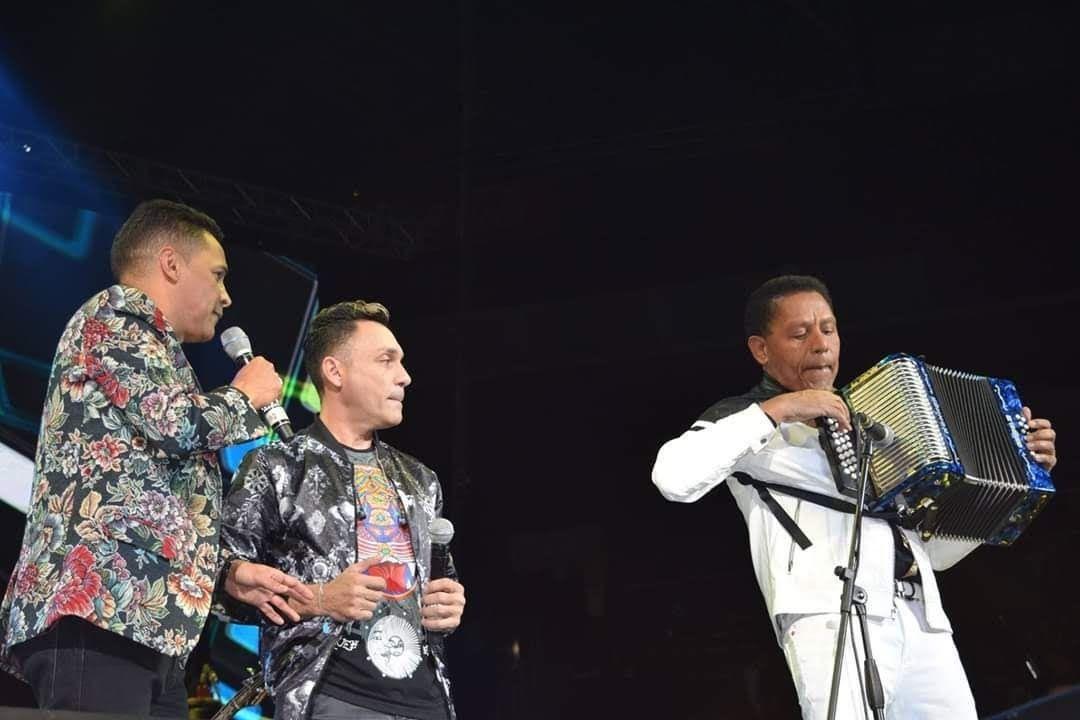 Jean Carlos Centeno, Jorge Celedón y El Pollo Isra