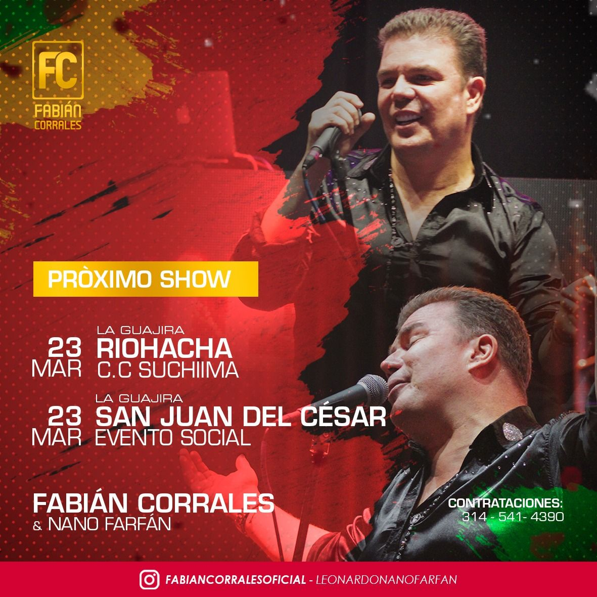Fabian Corrales Memorables