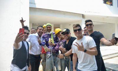 Kvrass en Valledupar con el alcalde