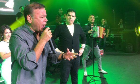 Iván Villazón y Peter Manjarrés en Medellín