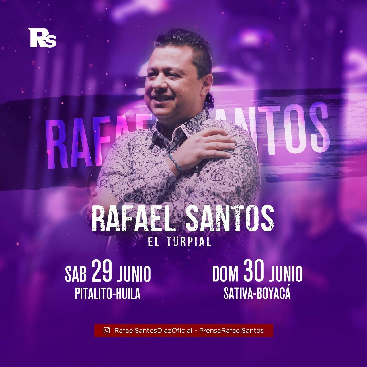Rafael Santos de vuelta