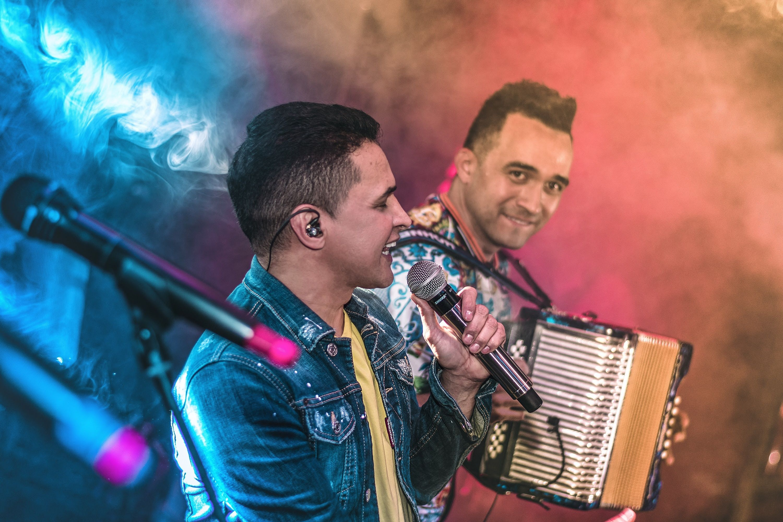Jorge Celedón y Sergio Luis