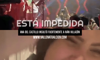 insultos de ana del castillo a Ivan Villazon