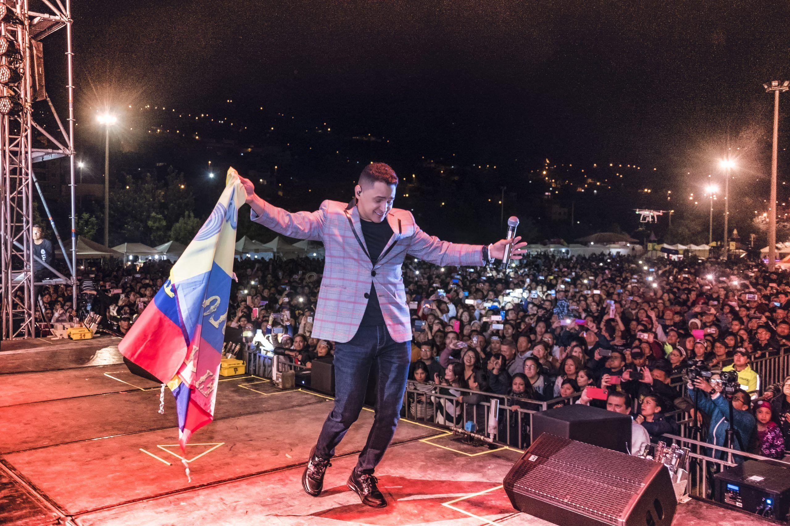 Jorge Celedón en Ecuador