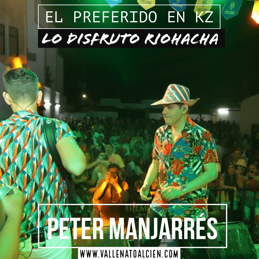 El preferido en KZ de Peter Manjarrés