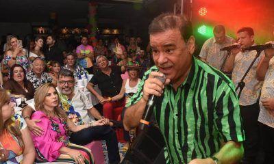 Iván Villazón en carnaval
